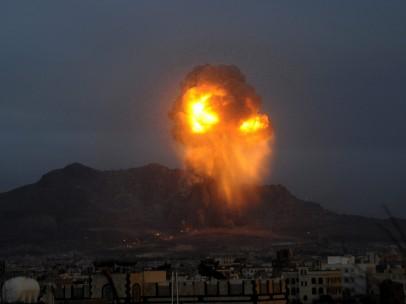 Decenas de proyectiles impactan en Saná