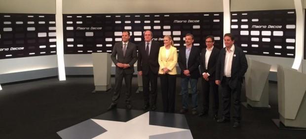 Debate de candidatos a la Comunidad de Madrid