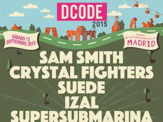 Cartel del festival Dcode 2015