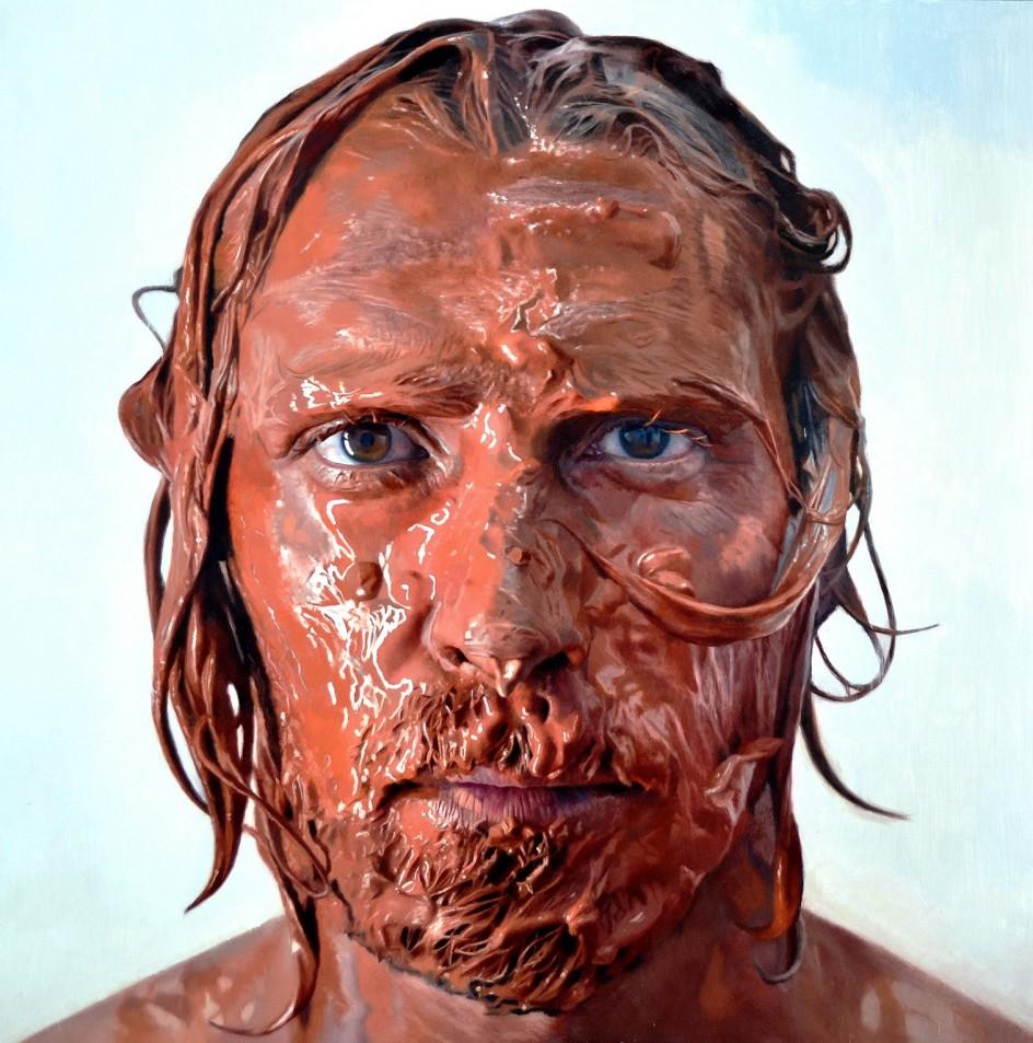 Los 39 autorretratos cabeza 39 del pintor realista madrile o - Busco trabajo de pintor en madrid ...