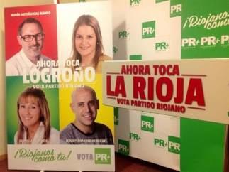 Cartel del Partido Riojano