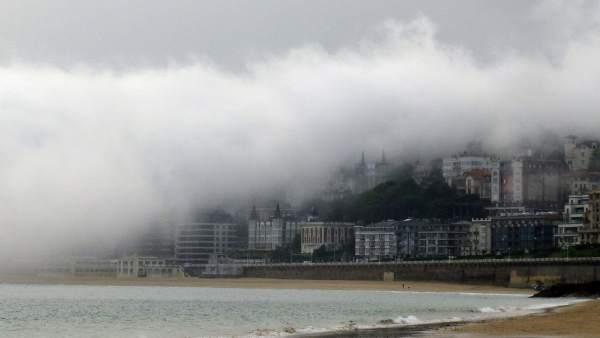 Altas temperaturas a pesar de la niebla