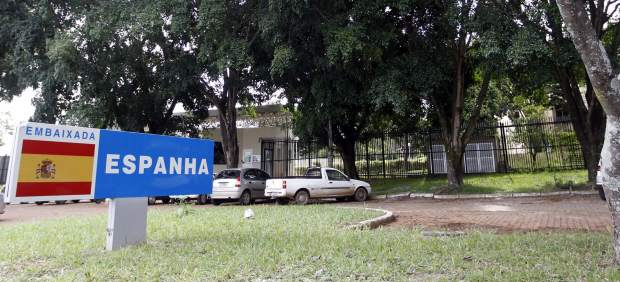Embajada española en Brasil.