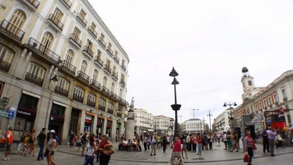 Saturaci n de centros comerciales en madrid con los planes for Centro comercial la puerta del sol