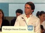 """Aznar: """"La izquierda funde el país"""""""