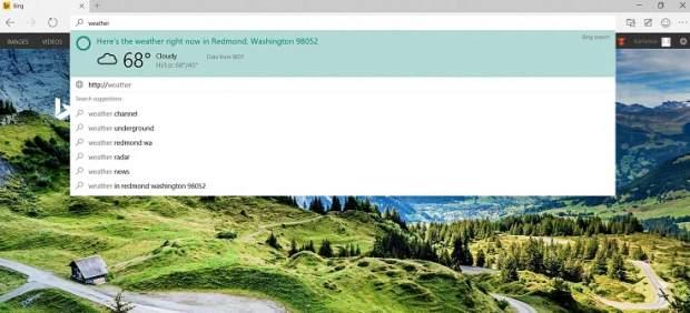 Microsoft Edge: el navegador que quiere hacer olvidar a Explorer en Windows 10 este 2015