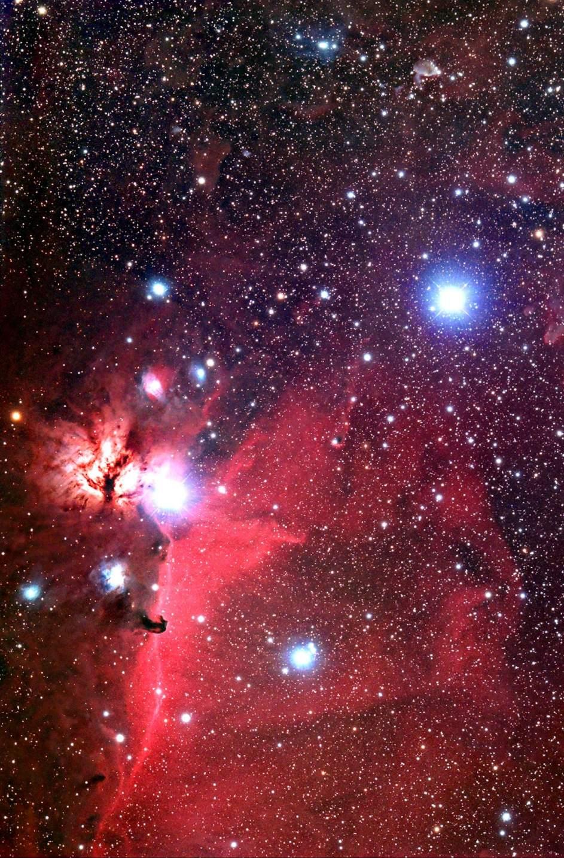 Cómo es el 'primer corazón' de una estrella