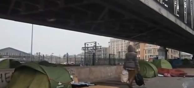 La policía desmantela un campamento de más de 1.000 inmigrantes en París