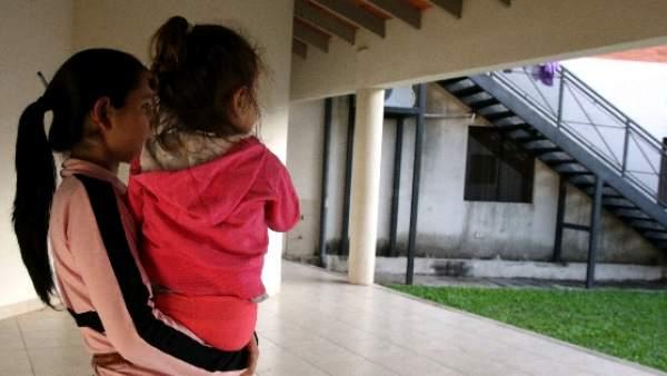 a4f4dbf41 El albergue paraguayo donde niñas embarazadas aprenden a ser madres