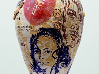 Grayson Perry - Sex and Drugs and Earthenware 1, 1995