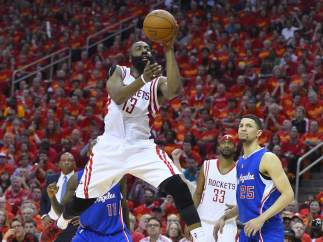 Rockets-Clippers, James Harden.