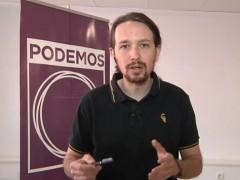 "Pablo Iglesias: ""Tania S�nchez siempre ha sido una referencia"""