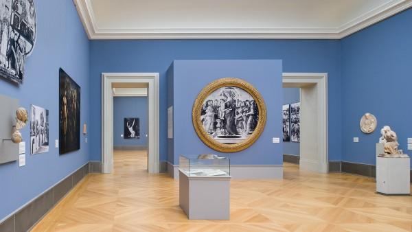Bode-Museum, Blick in Saal 258