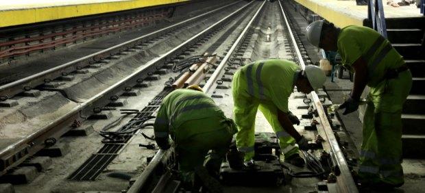 Obras en Metro de Madrid
