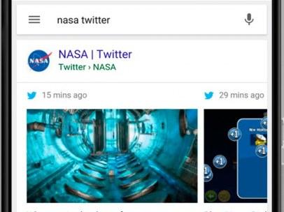 Mensajes de Twitter incluidos en las b�squedas de Google