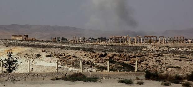Combates en la ciudad de Palmira