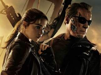 Cartel promocional de 'Terminator: Génesis'