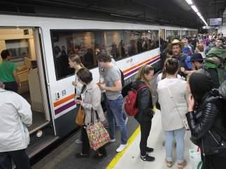Incidencia en los trenes de Barcelonas