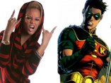 Robin y Rihanna