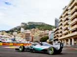 Lewis Hamilton, en Mónaco