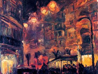 'Stra�e bei Nacht', 1913