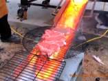 Carne a la lava, la nueva 'delicatessen'