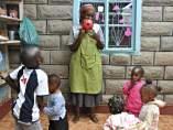 Guardería de Kenia