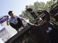 Juan Carlos Monedero y ��igo Errej�n