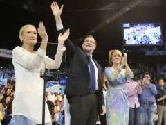 Rajoy, Aguirre y Cifuentes