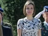 Letizia celebra sus 11 a�os de casada en su mejor momento
