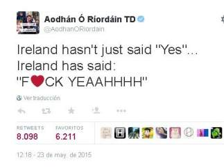 Irlanda dice 's�'