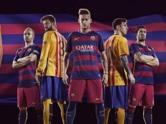 Uniformes del Barça para la temporada 2015-2016