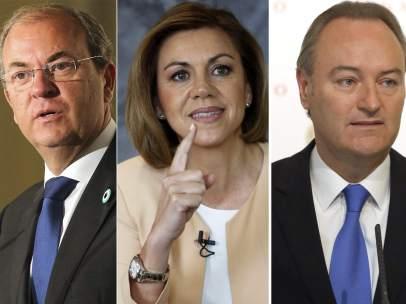 Jos� Antonio Monago, Dolores de Cospedal, Carlos Fabra