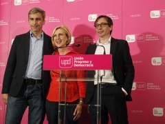 Rosa D�ez tras los resultados electorales