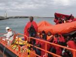 Salvamento Marítimo rescata a 22 inmigrantes