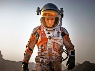 Matt Damon en 'The Martian'