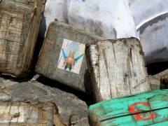 Descubren una tonelada de 'coca�na negra' en el aeropuerto de la Ciudad de M�xico