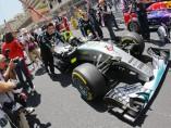 Mercedes en el GP de Mónaco