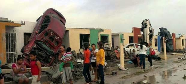 Tornado en México