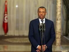 El jefe del gobierno consolidado libio, Abdula al Zinni.
