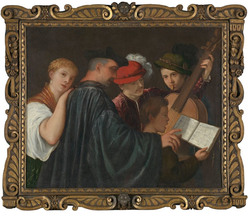 'The Music Lesson', about 1535