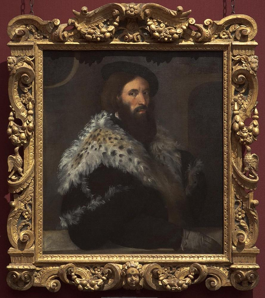 'Portrait of Girolamo Fracastoro', about 1528