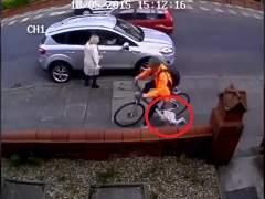 Atropello ciclista