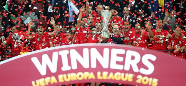 Sevilla con la Europa League