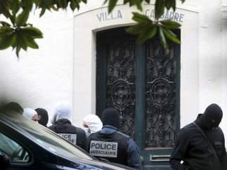 Operaci�n antiterrorista en Biarritz