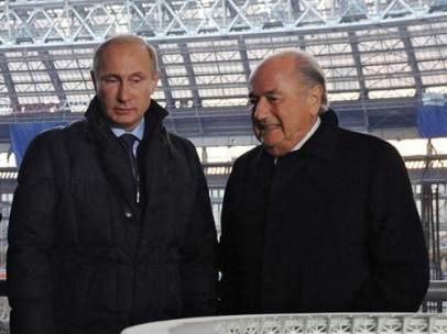Blatter y Putin