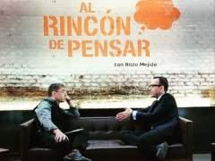 Juan Carlos Monedero y Risto Mejide