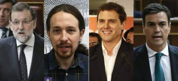 Empieza el juego de pactos con un PP que se tambalea y Podemos y Ciudadanos cogiendo fuerza