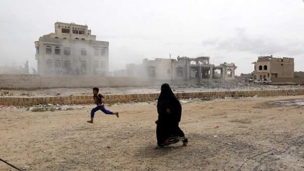 Arabia Saudí reanuda ataques en Yemen
