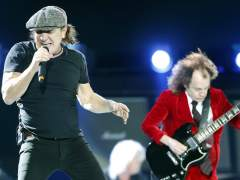 Brian Johnson y Angus Young